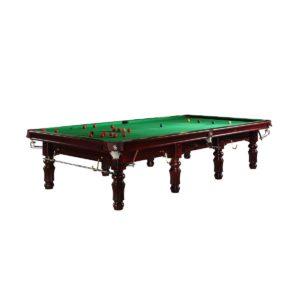 Snookertisch Mahagoni